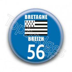 Badge Bretagne 56