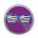 Badge Lunettes bleues drapeau breton