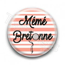 Badge Mémé bretonne