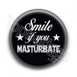 Badge : Smile if you masturbate