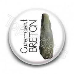 Badge : Cure-dent breton