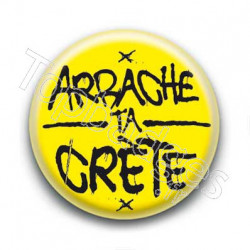 Badge Arrache ta Crète !