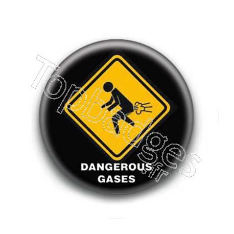 Badge : Dangerous gases