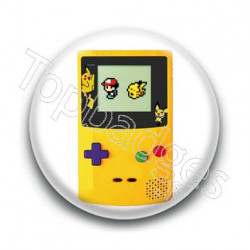 Badge GameBoy Edition Jaune