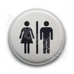 Badge Woman & Man