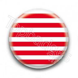 Badge Marinière rouge
