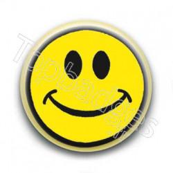 Badge Smiley Jaune 2