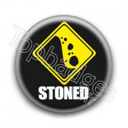 Badge Stoned