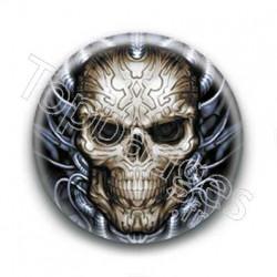 Badge Tete de mort 2