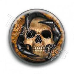 Badge Tete de mort 3