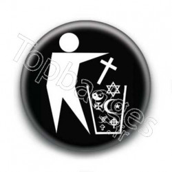 Badge religion trashes