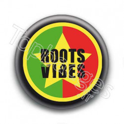 Badge Roots Vibes