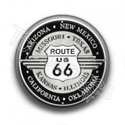 Badge Road 66