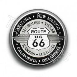 Badge Road 66