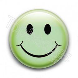 Badge : Smiley vert