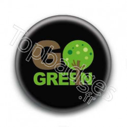 Badge Go Green