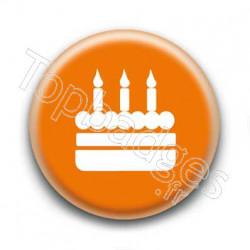Badge Gâteau Anniversaire