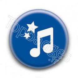 Badge Croche de Musique