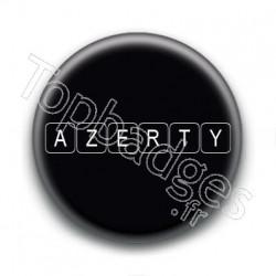 Badge Azerty