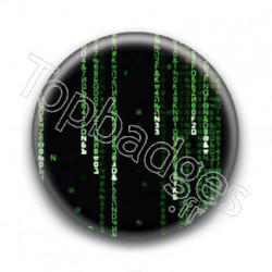 Badge Binaire Matrix