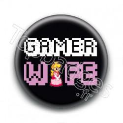 Badge Gamer Wife