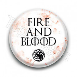 Badge : Devise Targaryen, Game of Thrones