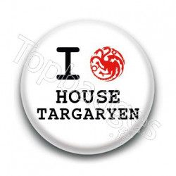 Badge : Love Targaryen, Game of Thrones