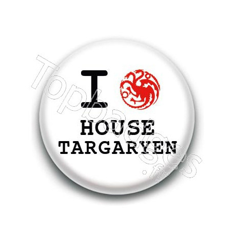 Badge : Love Targaryen, Game of Thrones