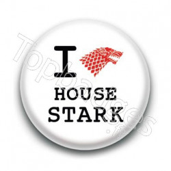 Badge : Love Stark, Game of Thrones
