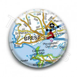 Badge GPS Ville de Brest