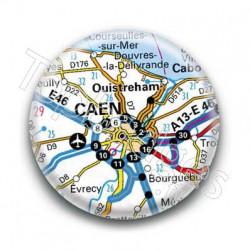 Badge GPS Ville de Caen
