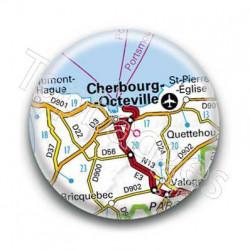 Badge GPS Ville de Cherbourg