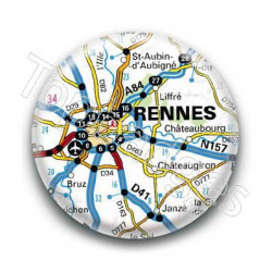 Badge GPS Ville de Rennes