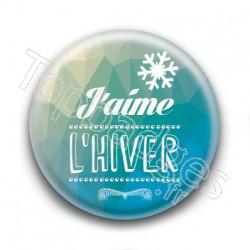 Badge : J'aime l'hiver