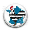 Badge France Coq Breton