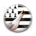 Badge Mouette Bretonne