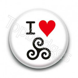 Badge I Love Triskel