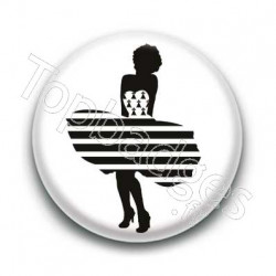 Badge Monroe Bretonne