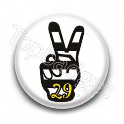 Badge Peace Breton 29
