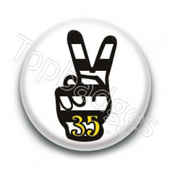 Badge Peace Breton 35