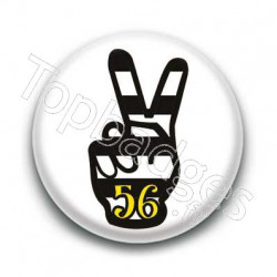 Badge Peace Breton 56