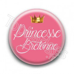 Badge Princesse Bretonne