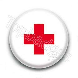 Badge Croix Rouge