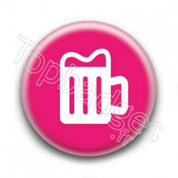 Badge Logo Bière
