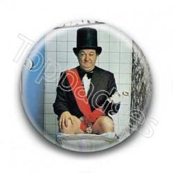 Badge Humouriste Président Coluche