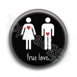 Badge True Love