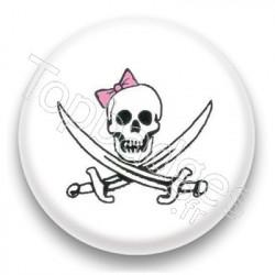 Badge Pirate Girl