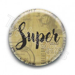 Badge Super Masculin