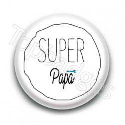 Badge Super Papa