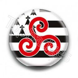 Badge Triskel Breton